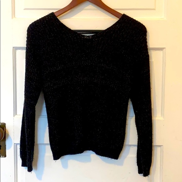 Black sweater for girls Size 1314